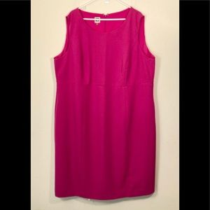 Anne Klein 24W Pink Sleeveless Dress